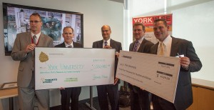 York receives rebate cheques fropm Toronto Hydro and Enbridge